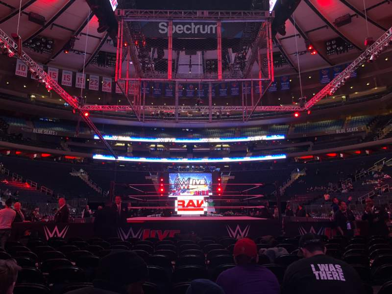 Seating view for Madison Square Garden Section B Row 11 Seat 12