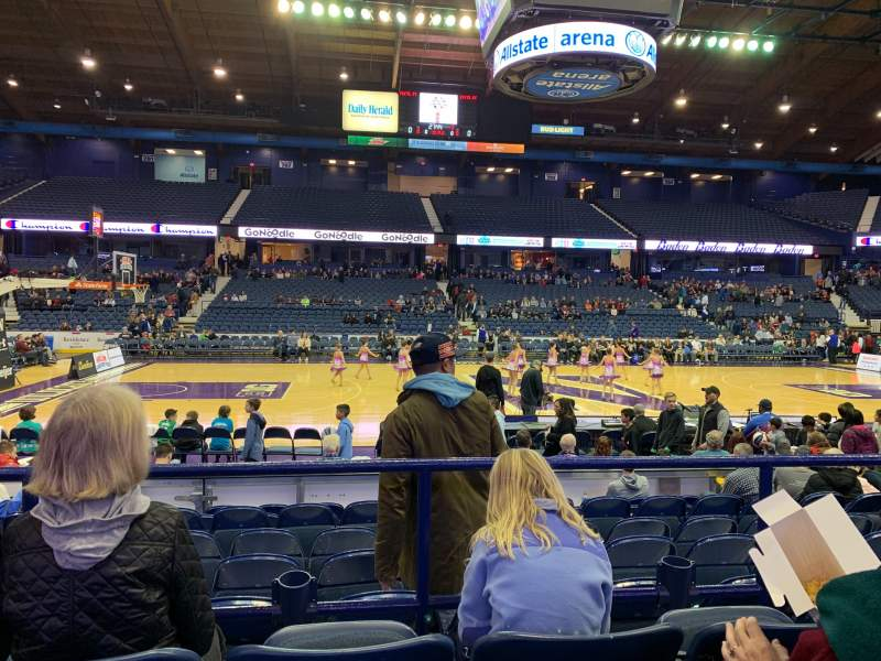 Allstate Arena Interactive Basketball Seating Chart