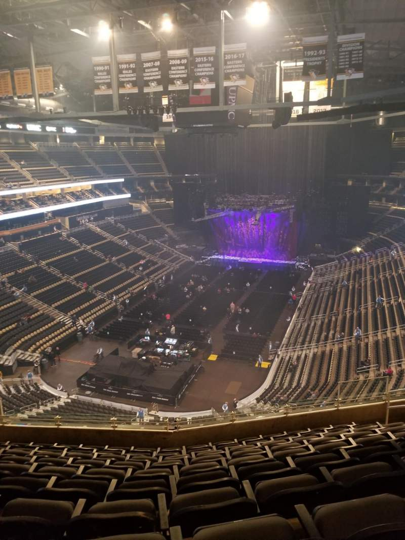 Seating view for PPG Paints Arena Section 209 Row K Seat 9