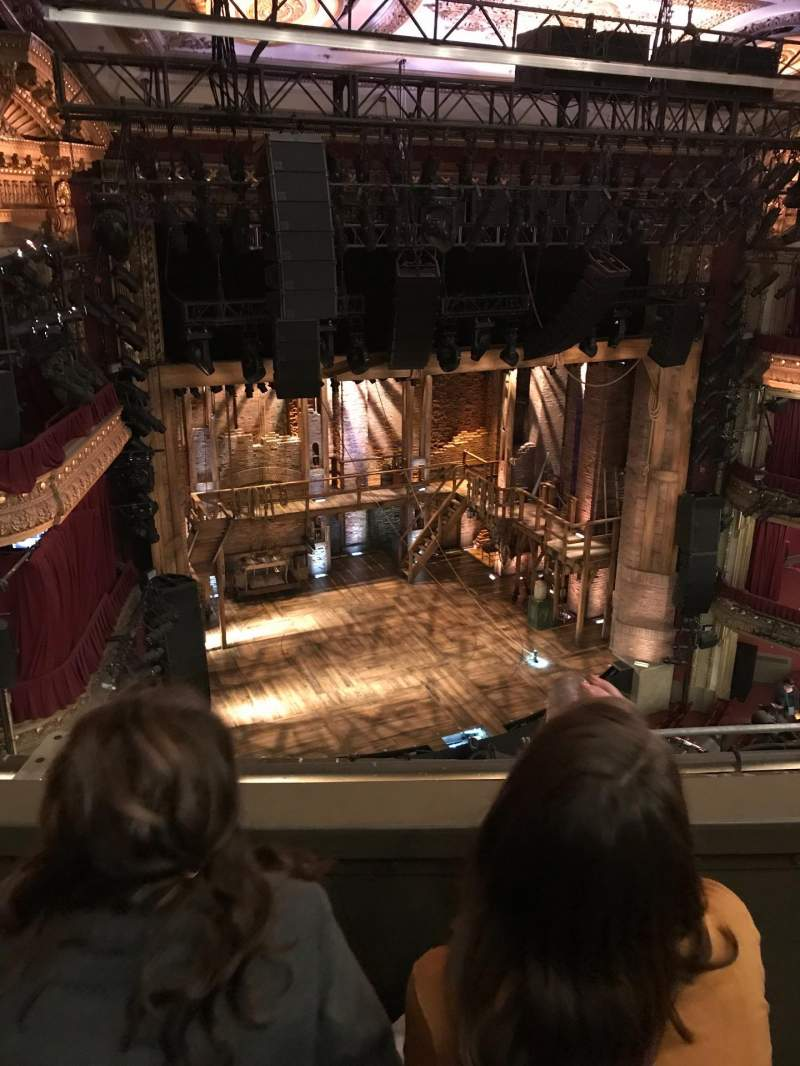 Seating view for CIBC Theatre Section Balcony L Row B Seat 5