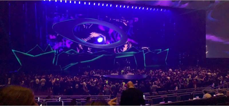 Seating view for Park Theater at Park MGM Section 305 Row B Seat 3