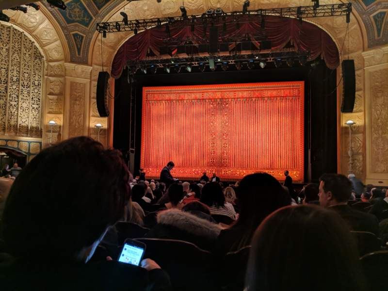 Seating view for Detroit Opera House Section Main Floor 2 Row U Seat 215