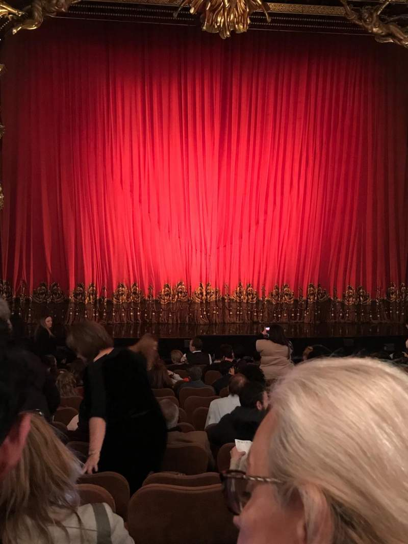 Seating view for Majestic Theatre Section Orchestra C Row L Seat 103