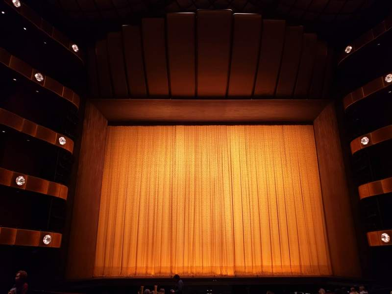 Seating view for David H. Koch Theater Section Orchestra Row Q Seat 109