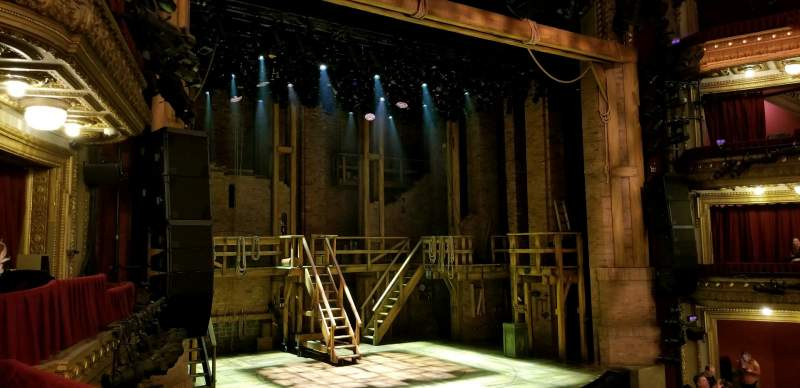 Seating view for CIBC Theatre Section Dress Circle Box 1 Row BX1 right Seat 207