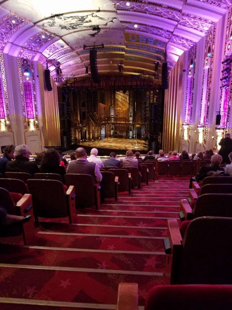 Seating view for The Bushnell Center for the Performing Arts - Mortensen Hall Section Mezzanine F Row L Seat 102