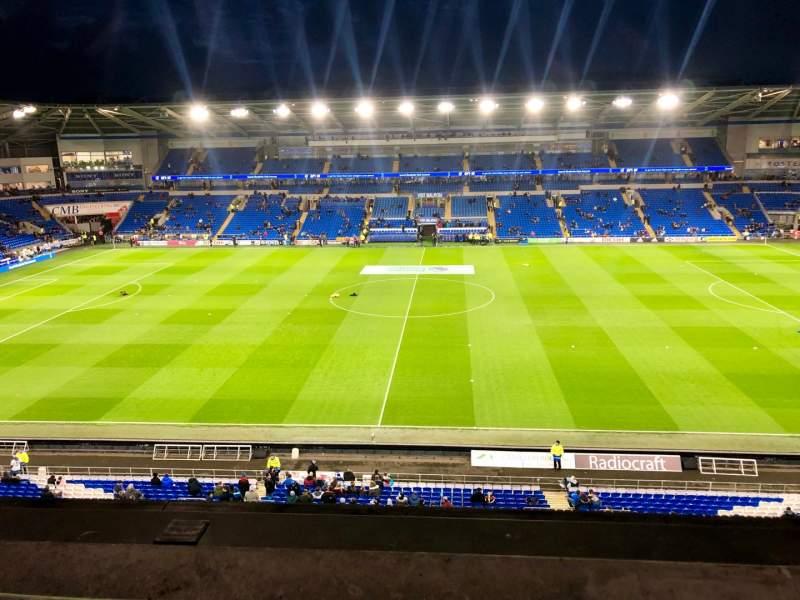 -Fotos In Cardiff City Stadium
