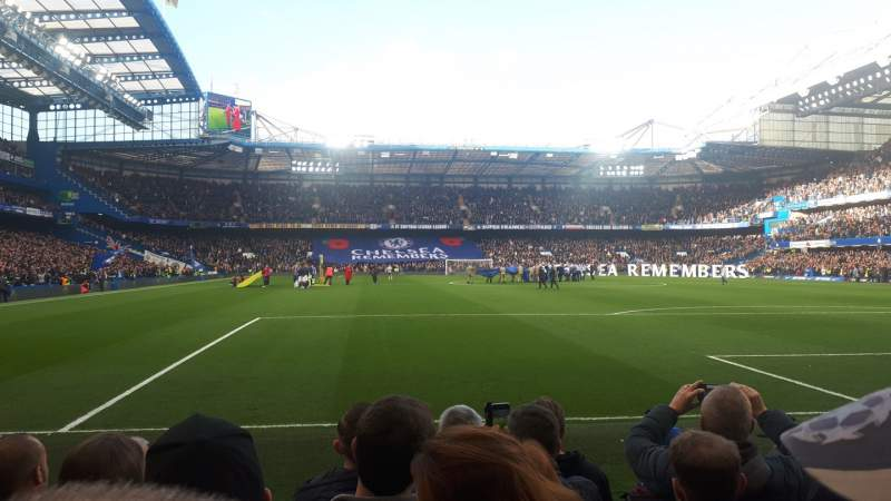 Seating view for Stamford Bridge Section 6 Row 6 Seat 142