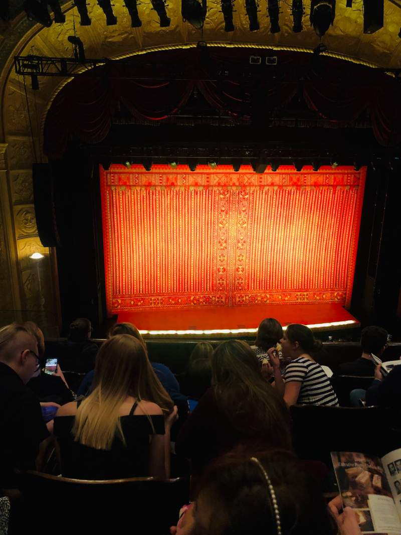 Seating view for Detroit Opera House Section Trustee Circle 3 Row EE Seat 213