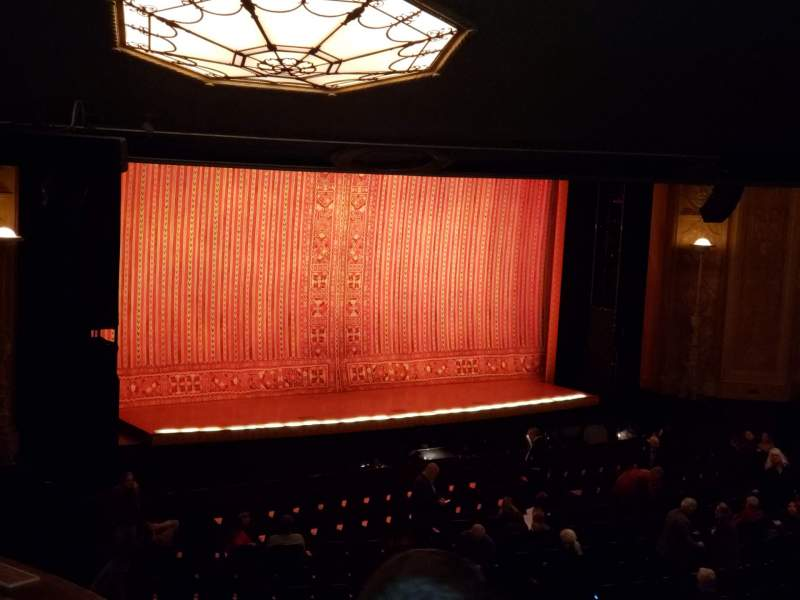Seating view for Detroit Opera House Section Box 4 Row 3 Seat 10