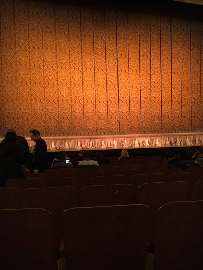 Seating view for Booth Theatre Section Orchestra C Row H Seat 103