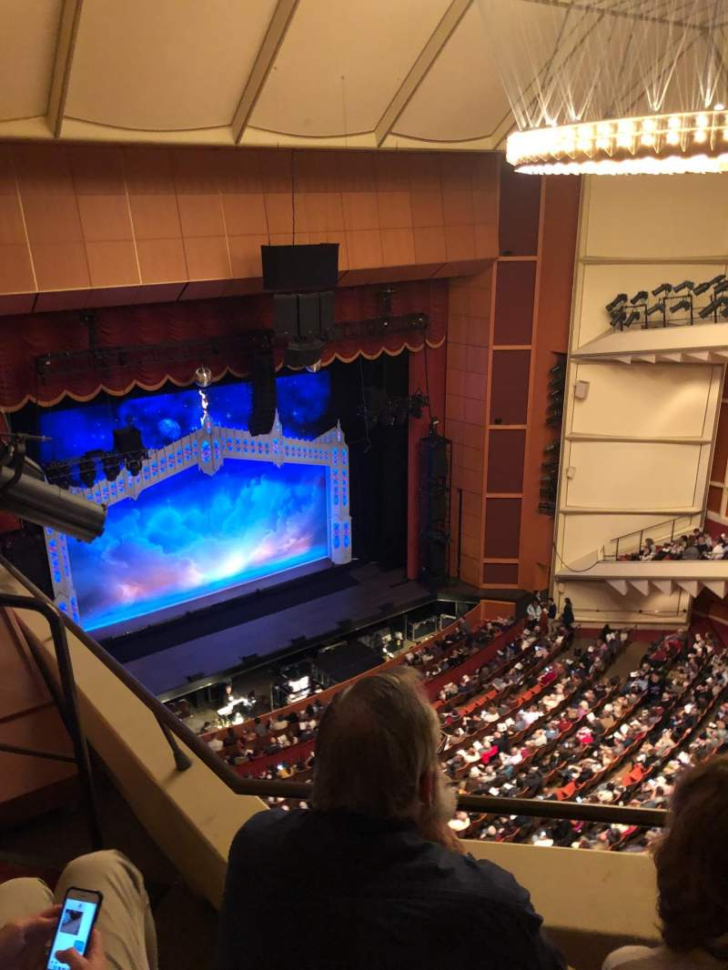 Seating view for Uihlein Hall Section Balcony Row 2 Seat 2