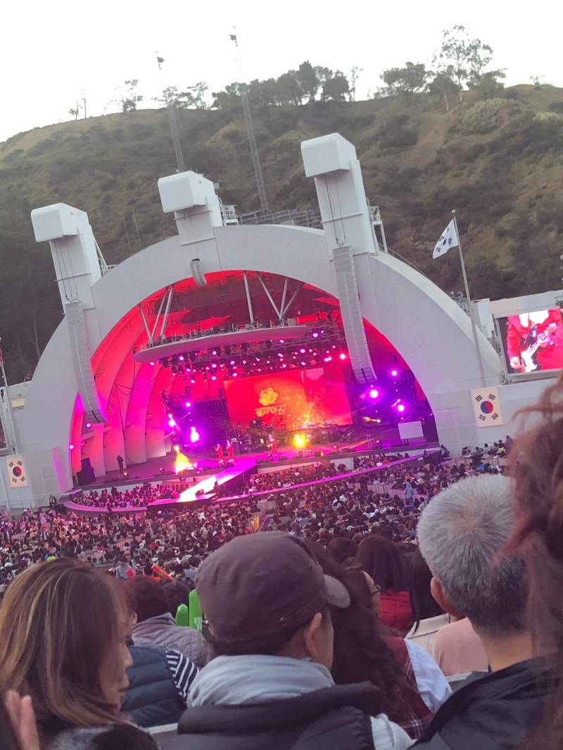 Seating view for Hollywood Bowl Section F1
