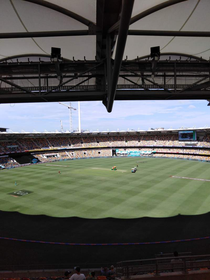 Seating view for The Gabba Section 73 Row uu Seat 276