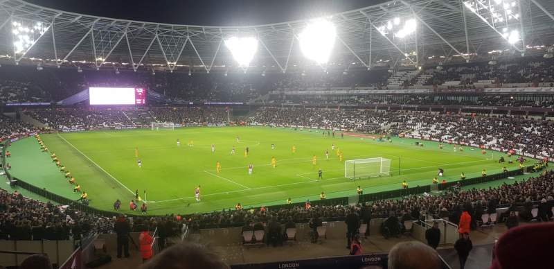 Seating view for London Stadium Section 245 Row 37