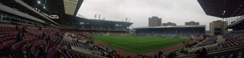 Seating view for Boleyn Ground Section West Stand Lower