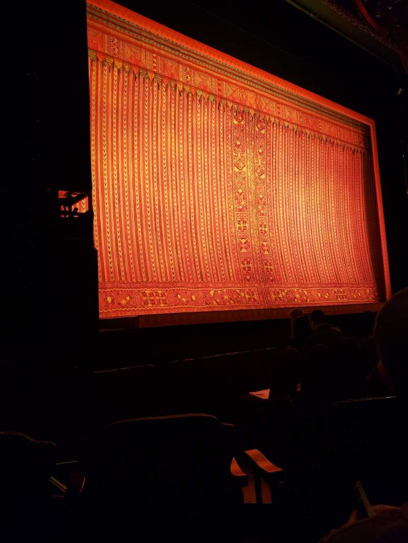 Seating view for Detroit Opera House Section Main Floor 3 Row D Seat 119