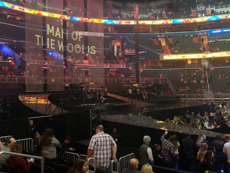 Seating view for Capital One Arena Section 121 Row J Seat 7