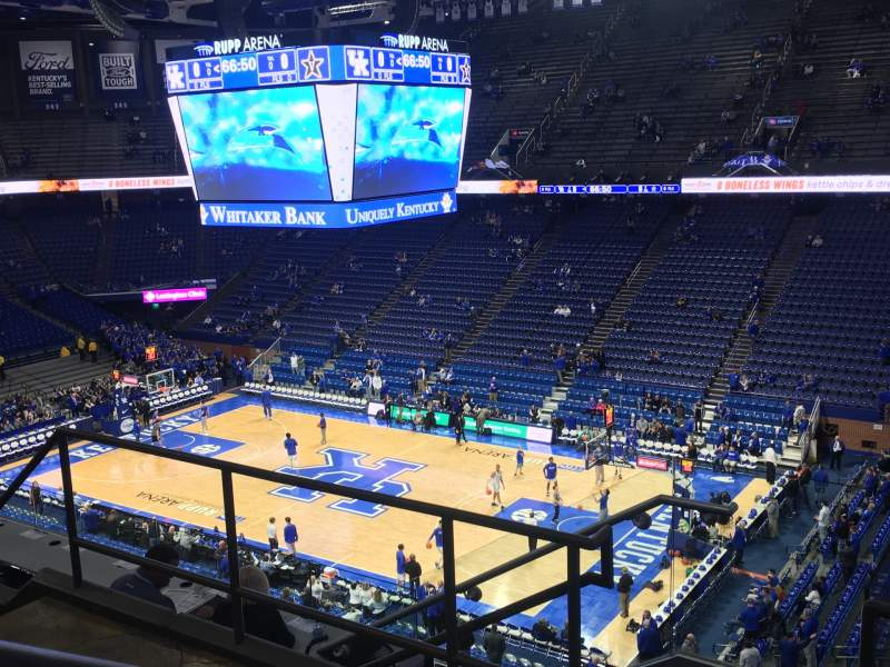 Seating view for Rupp Arena  Section 228 Row E Seat 8