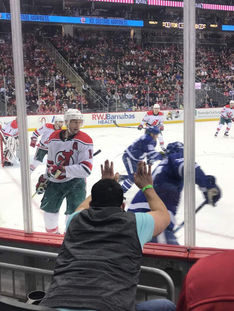 Seating view for Prudential Center Section 5 Row 3 Seat 5 and 6