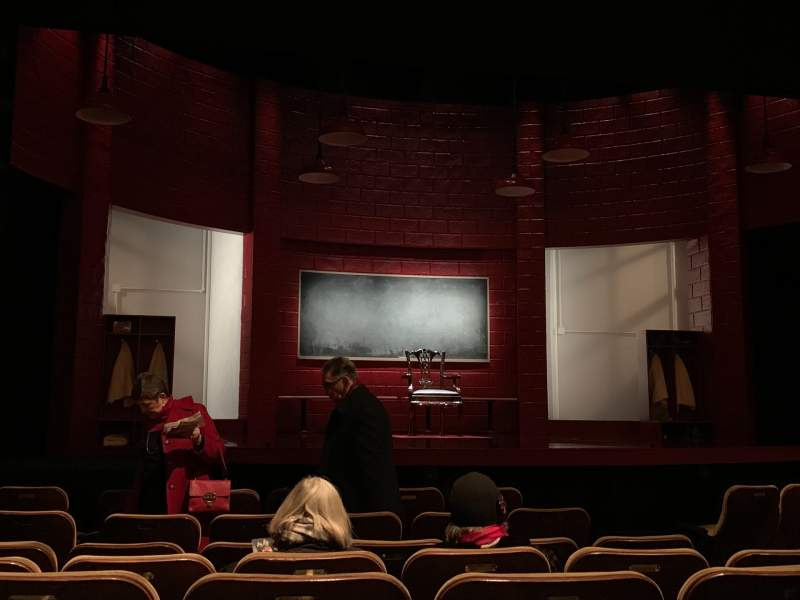 Seating view for Samuel J. Friedman Theatre Section Orchestra L Row G Seat 109