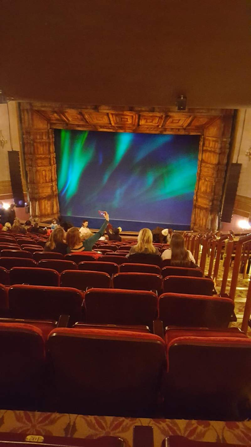 Seating view for St. James Theatre Section Mezzanine C Row R Seat 101