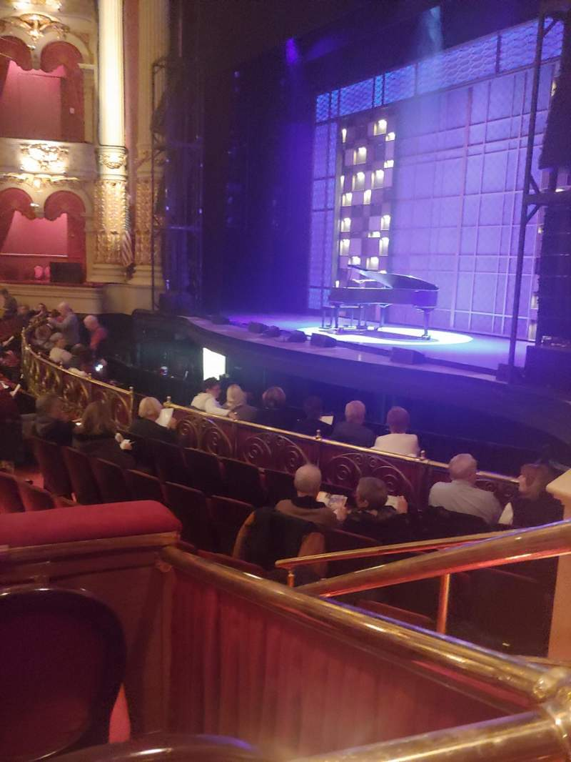 Seating view for Academy of Music Section Parquet Circle A Row T Seat 60