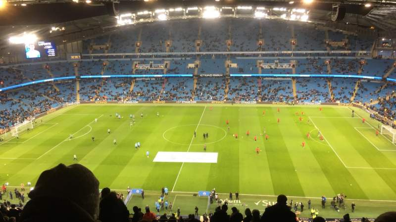 Seating view for Etihad Stadium (Manchester) Section 325 Row CC Seat 720