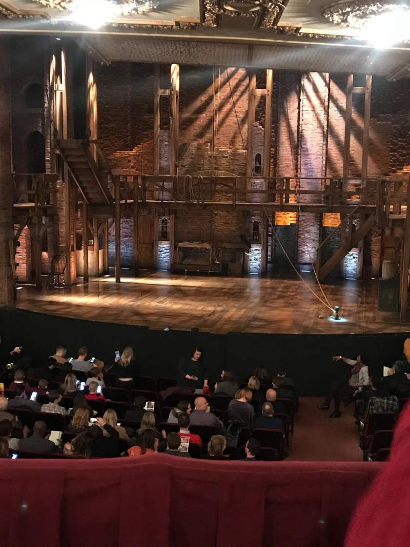 Seating view for CIBC Theatre Section DRCR-RC Row B Seat 222