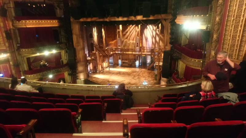Seating view for CIBC Theatre Section Mezzanine R Row G Seat 2