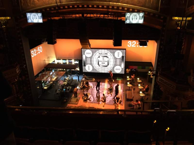 Seating view for Belasco Theatre Section Balcony C Row E Seat 114