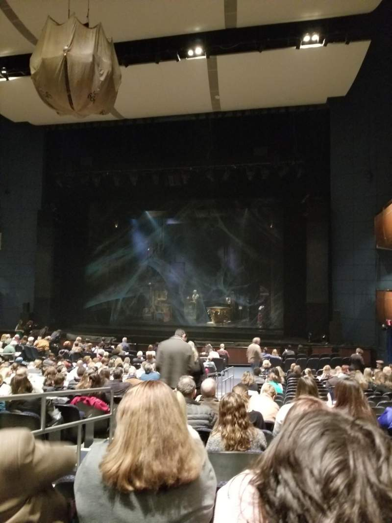 Seating view for Civic Center Music Hall Section Orchestra Right Row U Seat 3-4