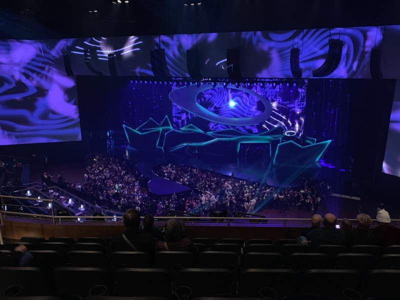 Seating view for Park Theater at Park MGM Section 403 Row G Seat 20
