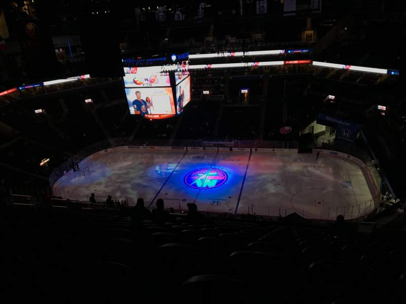 Seating view for Barclays Center Section 206 Row 22 Seat 6