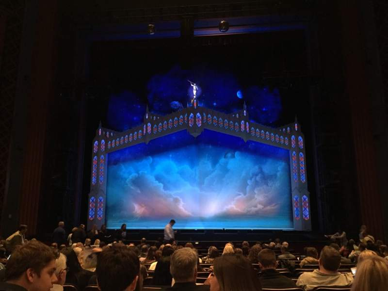 Seating view for Sarofim Hall Section CORCH Row Q Seat 114