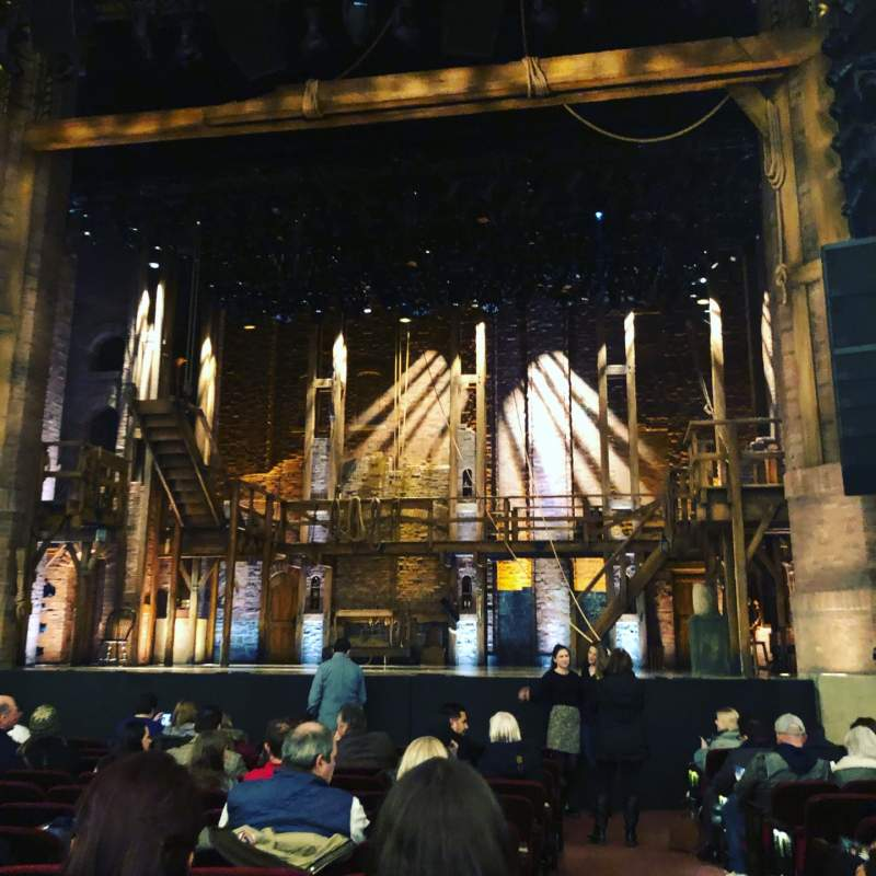 Seating view for CIBC Theatre Section Orchestra C Row N Seat 114