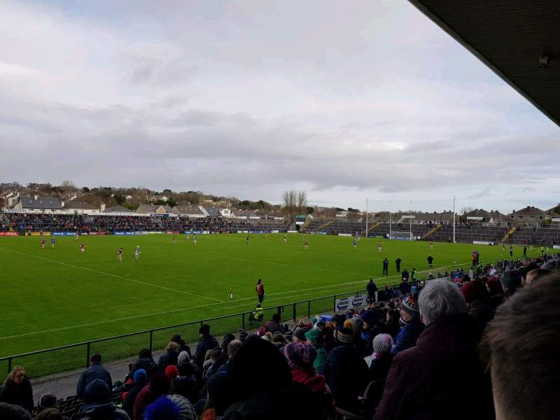 Seating view for Pearse Stadium Section K Row R Seat 5