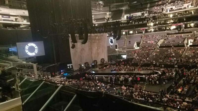 Seating view for Staples Center Section PR13 Row 12 Seat 11