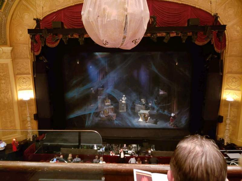 Seating view for Detroit Opera House Section Trustee Circle 2 Row BB Seat 202
