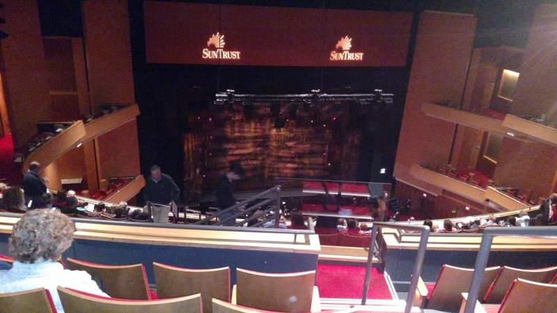 Seating view for Durham Performing Arts Center Section Balcony 8 Row N Seat 301