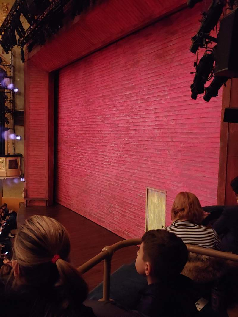 Seating view for Shubert Theatre Section Boxes L Row D Seat 3