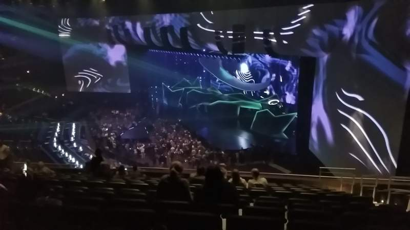 Seating view for Park Theater at Park MGM Section 402 Row N Seat 4