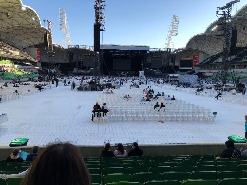 Seating view for AAMI Park Section 36 Row K Seat 257