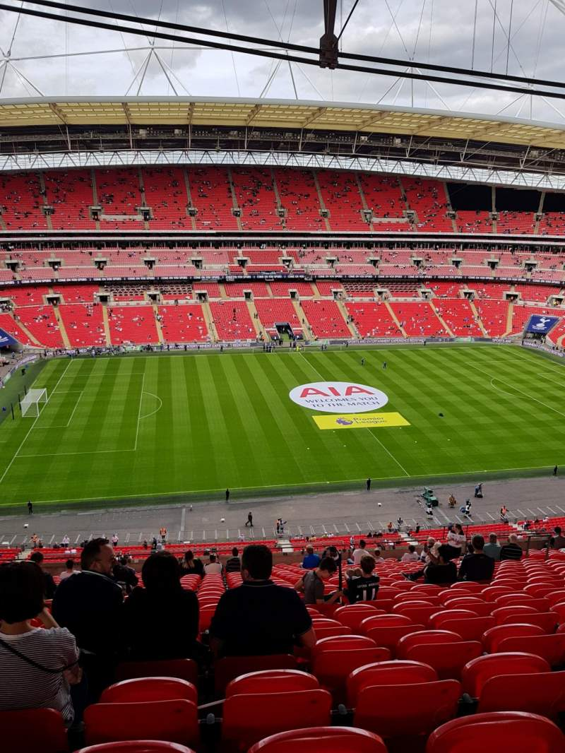 Seating view for Wembley Stadium Section 529 Row 21 Seat 62