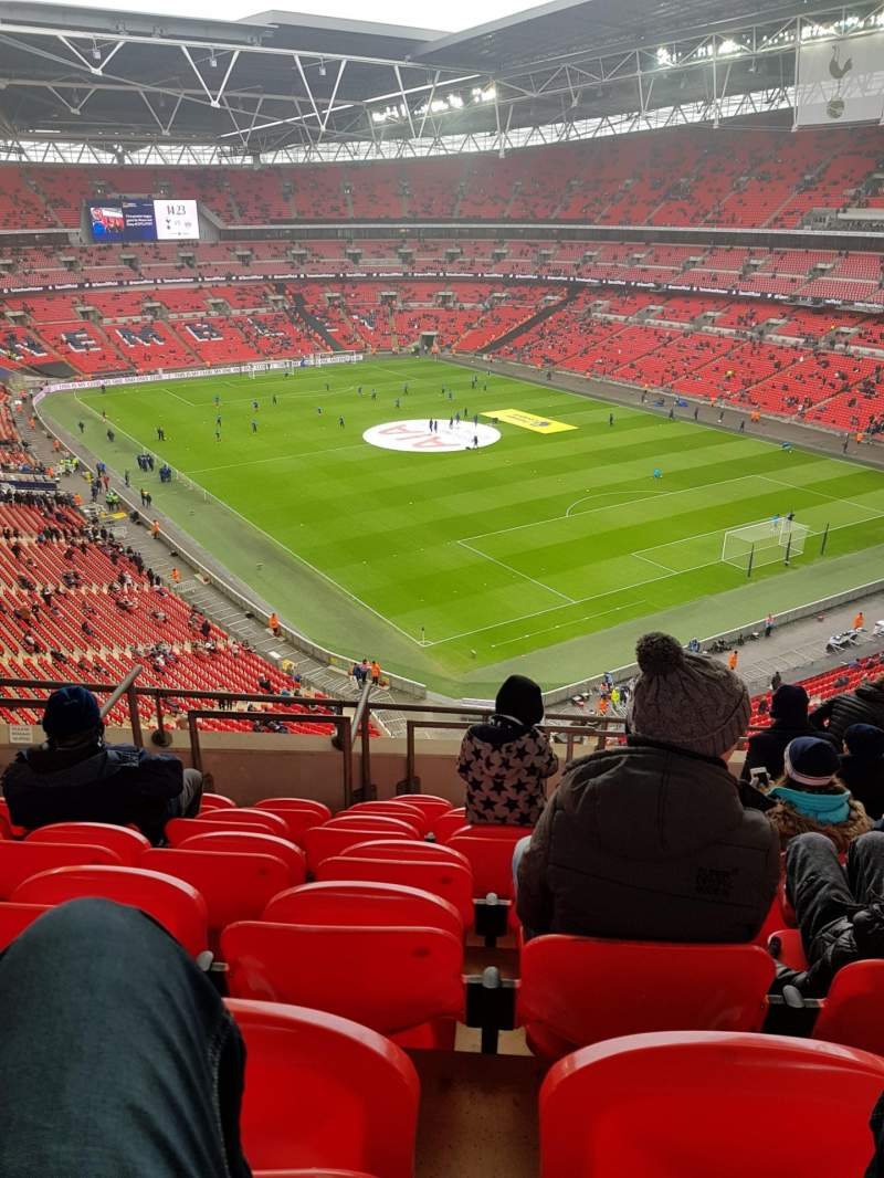 Seating view for Wembley Stadium Section 544 Row 10 Seat 145
