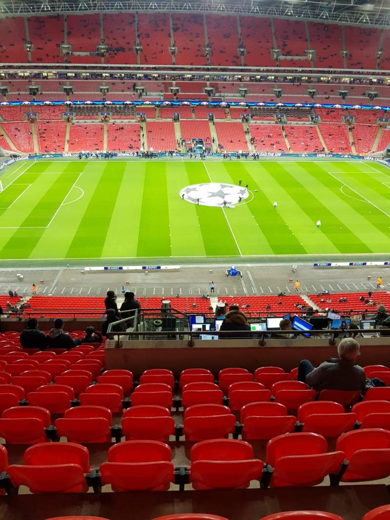 Seating view for Wembley Stadium Section 528 Row 14 Seat 27