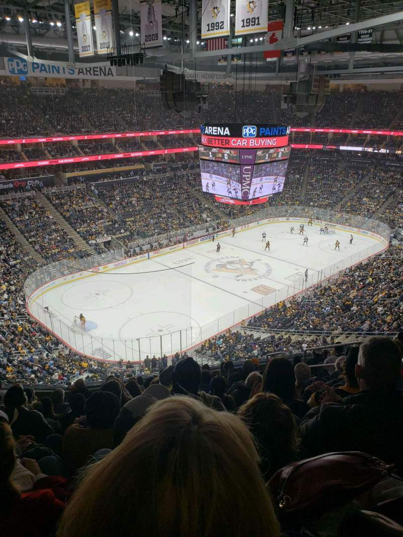 Seating view for PPG Paints Arena Section 224 Row l Seat 6