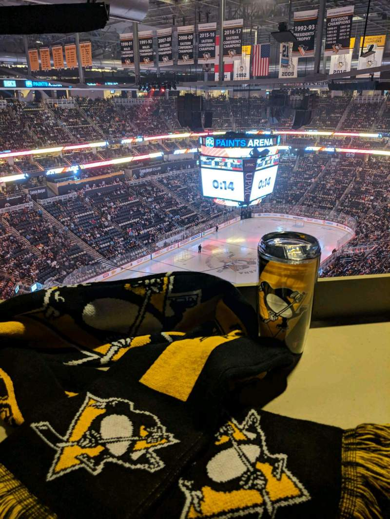 Seating view for PPG Paints Arena Section 208 Row EDG Seat 6