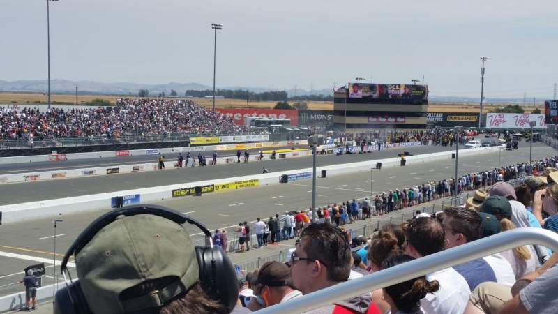 Seating view for Sonoma Raceway Section N