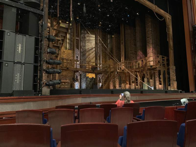 Seating view for Walt Disney Theatre - Dr. Phillips Center Section Lower Orchestra L Row C Seat 9